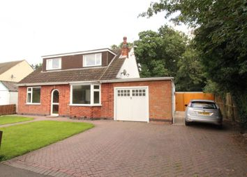 Thumbnail 4 bed bungalow for sale in Grange Avenue, Leicester Forest East, Leicester