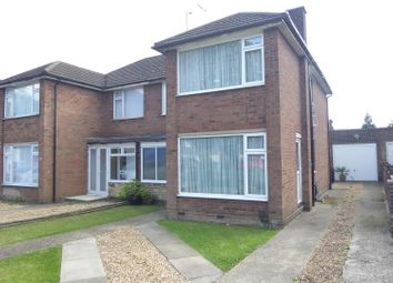 Thumbnail 3 bed semi-detached house for sale in Poynters Road, Dunstable