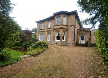 Thumbnail 4 bed flat for sale in Hunterhill Road, Paisley