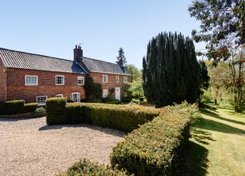 Thumbnail 6 bed detached house for sale in Church Road, Hassingham, Norwich