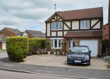 Thumbnail 4 bedroom detached house for sale in Godwin Road, Stratton, Swindon