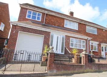 Thumbnail 3 bed semi-detached house for sale in Thistle Road, Thorney Close, Sunderland
