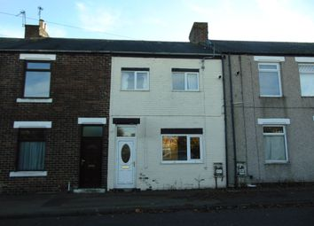 Thumbnail 2 bedroom terraced house for sale in West Chilton Terrace, Chilton, Ferryhill