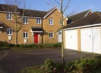 Thumbnail 3 bed terraced house to rent in Thurlow Close, Saxmundham