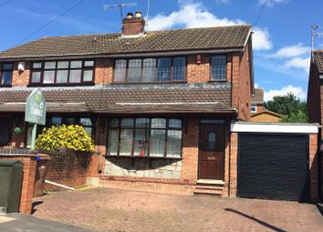 Thumbnail 3 bedroom semi-detached house for sale in Southborough Crescent, Bradeley, Stoke-On-Trent