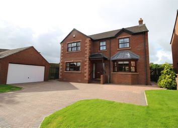 Thumbnail 4 bed detached house for sale in The Willows, Durdar, Carlisle, Cumbria