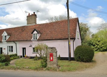 Thumbnail 2 bed cottage for sale in Hunston, Bury St Edmunds, Suffolk