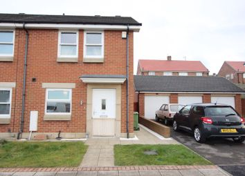 Thumbnail 2 bedroom semi-detached house for sale in Dartington Close, Pennywell, Sunderland