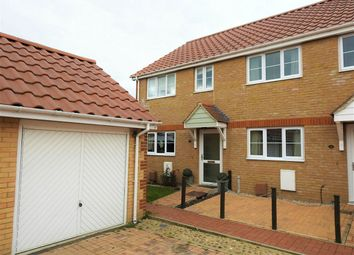 Thumbnail 3 bedroom end terrace house for sale in Mulberry Lea, Upwell, Wisbech