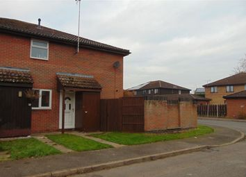 Thumbnail 1 bed semi-detached house to rent in Wyatt Close, Ramsey, Huntingdon