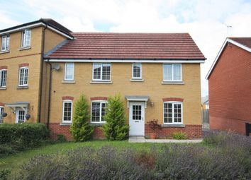Thumbnail 3 bedroom end terrace house to rent in Silver Birch Way, Whiteley, Fareham