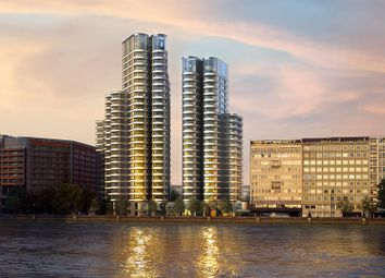Thumbnail 3 bedroom flat for sale in The Corniche, Tower Two, 20 Albert Embankment, London