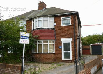 Thumbnail 3 bedroom semi-detached house for sale in Liverpool Avenue, Wheatley, Doncaster.