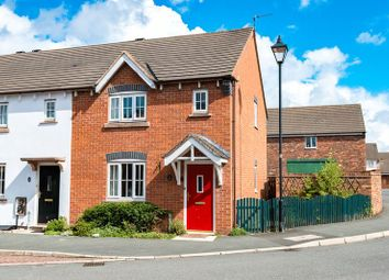 Thumbnail 3 bed mews house for sale in Jubilee Way, Croston, Leyland