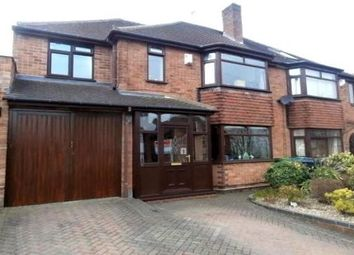 Thumbnail 4 bed property to rent in Charlemont Avenue, West Bromwich