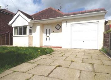 Thumbnail 2 bed bungalow for sale in Northcliffe Road, Stockport, Greater Manchester