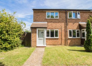 Thumbnail 2 bedroom end terrace house for sale in Bassett Close, Cambridge