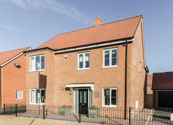 Thumbnail 5 bedroom detached house for sale in Great Melton Road, Hethersett, Norwich