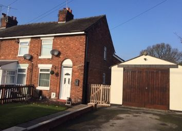 Thumbnail 2 bed end terrace house for sale in Main Road, Shavington, Crewe, Cheshire