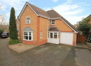 Thumbnail 4 bed detached house for sale in Oldfields Close, Leominster