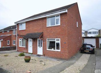 Thumbnail 3 bed semi-detached house for sale in Mendip Close, Melksham