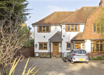 Thumbnail 2 bedroom end terrace house for sale in Between Streets, Cobham, Surrey