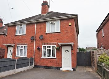 Thumbnail 2 bed semi-detached house for sale in Baker Street, Coventry