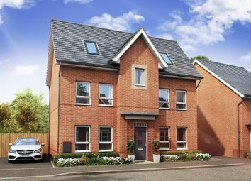 "Thumbnail 4 bedroom detached house for sale in ""Hexley"" at Countess Way, Broughton, Milton Keynes"