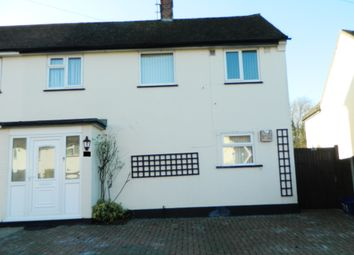 Thumbnail 2 bed semi-detached house to rent in Parkfields, Roydon