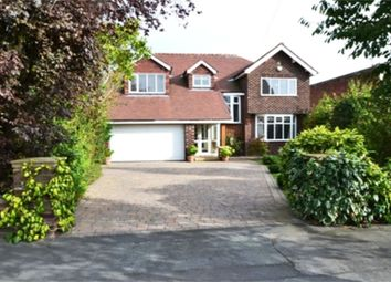 Thumbnail 4 bed detached house to rent in Chester Road, Hazel Grove, Stockport