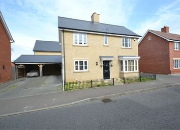 Thumbnail 3 bed detached house for sale in New Farm Road, Stanway, Colchester, Essex