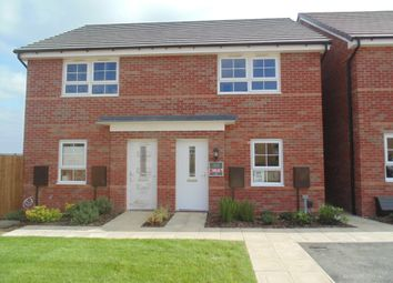 Thumbnail 2 bed semi-detached house to rent in Totnes Place, Grantham