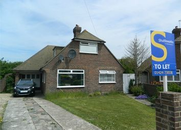 Thumbnail 4 bedroom detached house to rent in Abbey View, Bexhill-On-Sea, East Sussex