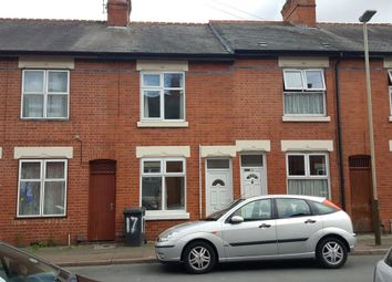 Thumbnail 2 bed terraced house to rent in Sawley Street, Evington, Leicester