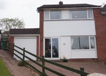 Thumbnail 3 bed semi-detached house for sale in Linden Close, Amington, Tamworth