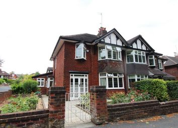 Thumbnail 3 bed semi-detached house for sale in Greenleach Lane, Worsley, Manchester