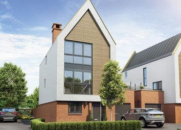 "Thumbnail 4 bedroom detached house for sale in ""Whinfell"" at Gimson Crescent, Tadpole Garden Village, Swindon"