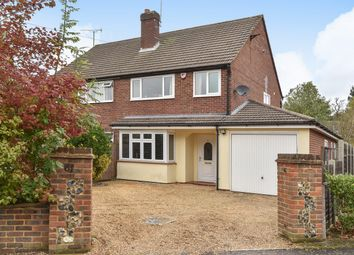 Thumbnail 3 bed semi-detached house for sale in Church Road East, Crowthorne, Berkshire
