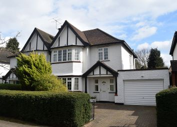 Thumbnail 3 bed semi-detached house for sale in Garrick Close, Walton-On-Thames