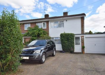 Thumbnail 3 bed semi-detached house for sale in Lakefield Avenue, Toddington, Dunstable