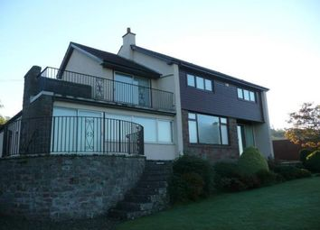 Thumbnail 4 bed detached house to rent in Forfar