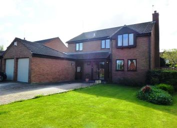 Thumbnail 4 bedroom detached house for sale in Moorings Close, Parkgate, Neston