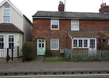 Thumbnail 2 bed end terrace house to rent in Cross Street, Leiston