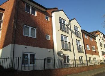 Thumbnail 2 bed flat to rent in Delamere Court, St Marys Street, Crewe.