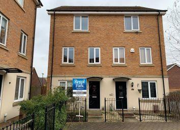 Thumbnail 4 bed semi-detached house to rent in Farrow Avenue, Hampton Vale, Peterborough