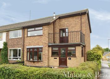Thumbnail 3 bed end terrace house for sale in Laurel Drive, Bradwell, Great Yarmouth