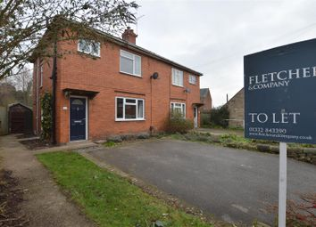 Thumbnail 3 bed semi-detached house to rent in Holloway Road, Duffield, Belper