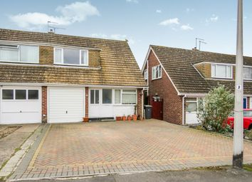 Thumbnail 3 bedroom semi-detached house for sale in Dickens Road, Rugby