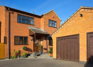 Thumbnail 4 bed detached house for sale in Peckleton Lane, Desford, Leicester