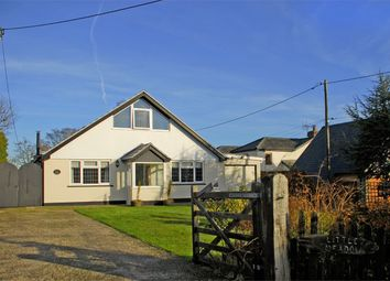 Thumbnail 4 bed detached bungalow for sale in Manchester Road, Sway, Lymington